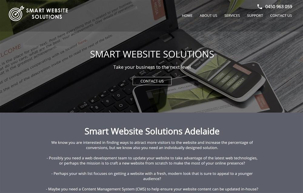 Smart Website Solutions Adelaide