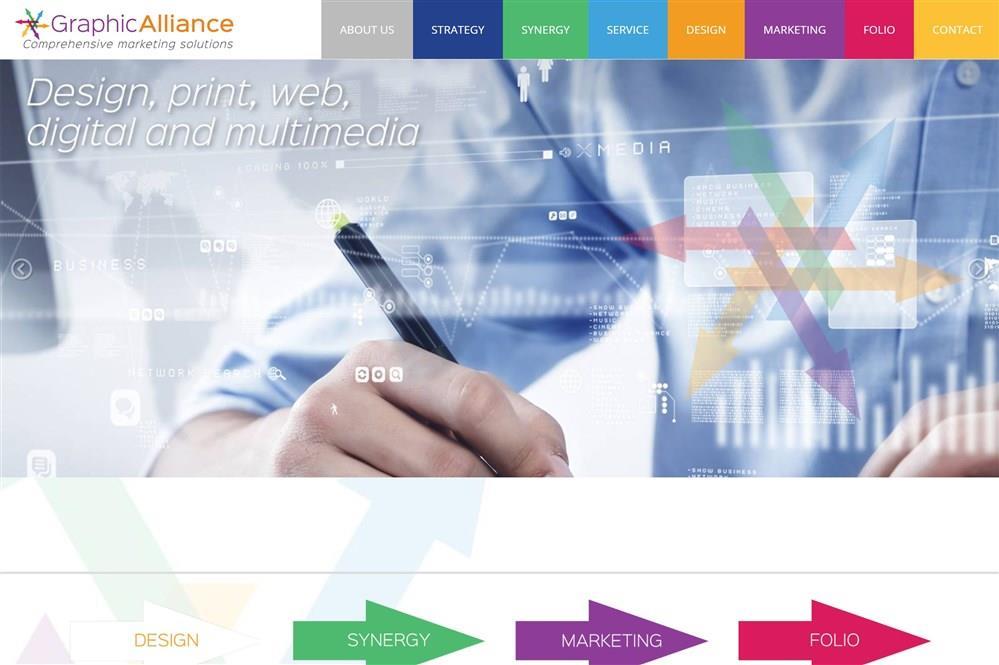 Graphic Alliance Website Design
