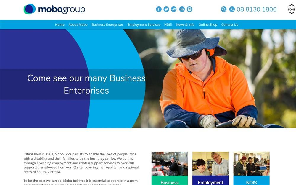Mobo Group Web Project