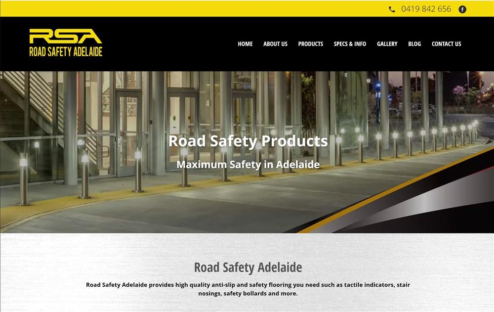 Roadsafetyadelaide Website Design
