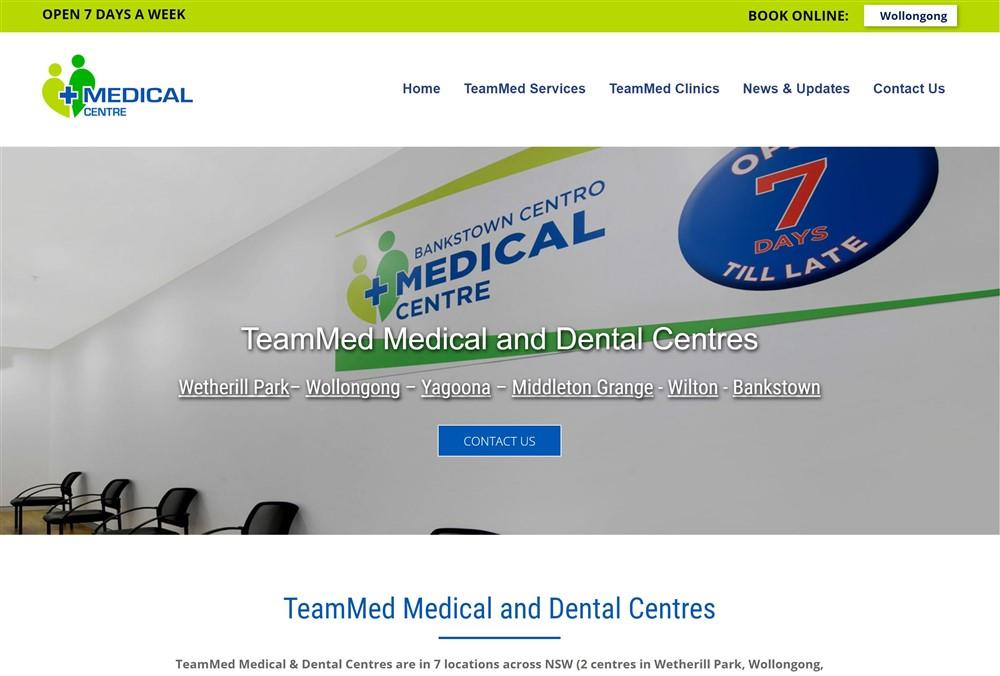 TeamMed Medical Website