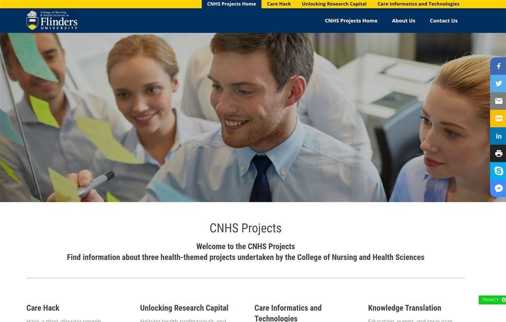 CNHS Projects - Flinders University